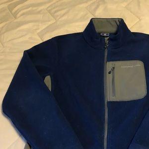 Vineyard Vines men's M blue zip front jacket